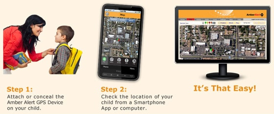 How to Use the Amber Alert GPS Child Tracker