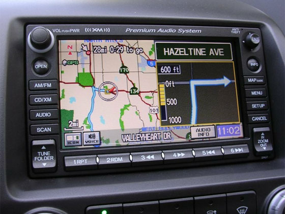 Navteq Maps Download for In-Dashboard Navigation