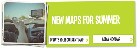 New TomTom Maps for the Summer