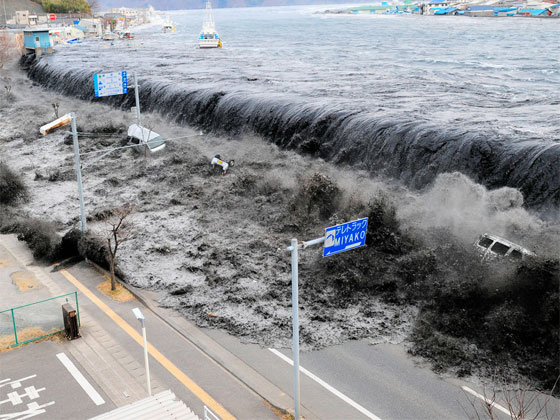 The Recent Japanese Tsunami