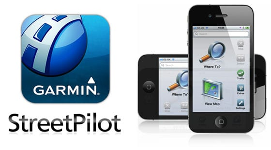 Garmin Streetpilot iPhone App - Mobile Navigation