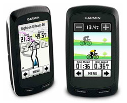The Garmin Edge 800 Cycling GPS Computer