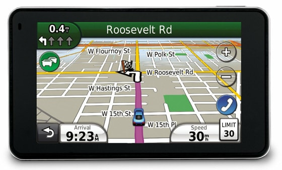 The Garmin Nuvi GPS Device