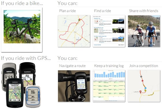 What You Can Do on Ride With GPS