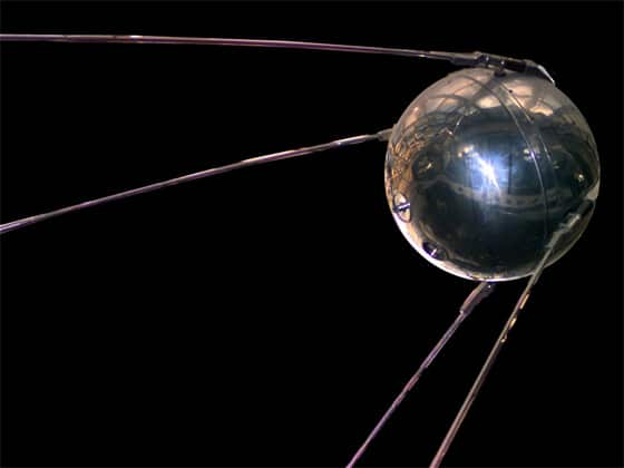 Sputnik Satellite Launched by the Russians