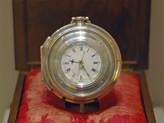The Chronometer by John Harrison Helped with Early Navigation