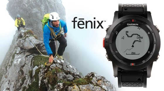 The Garmin Fenix GPS Watch Announced