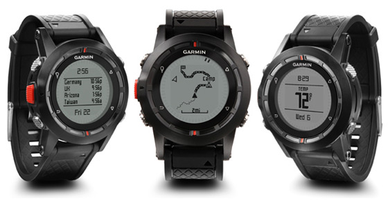 The New Garmin Fenix ABC Wristwatch