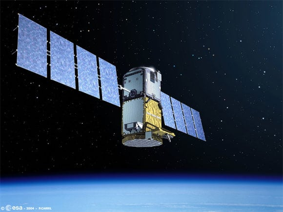 Galileo Test Satellite in Orbit