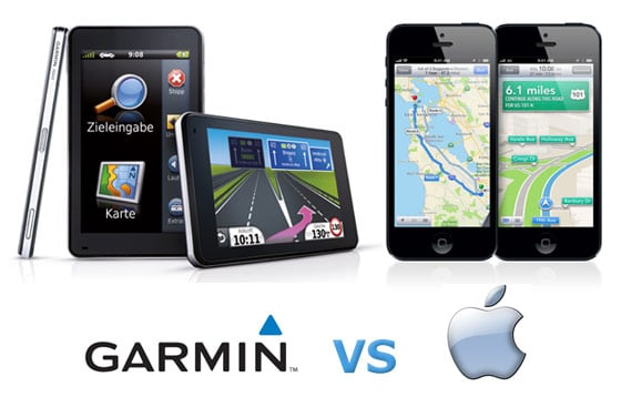 Garmin Versus Apple GPS Navigation