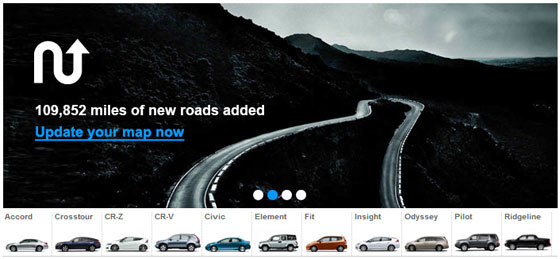 Honda Navigation Updates Come with New Roads