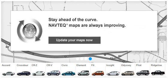 Update Your Honda Navteq Maps