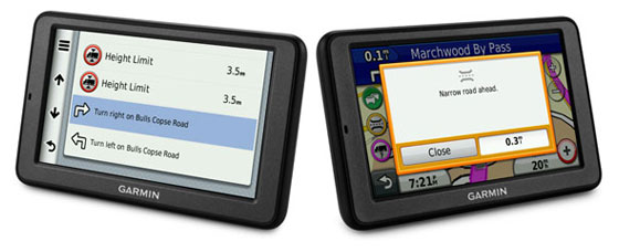 Garmin Dezl Trucking GPS
