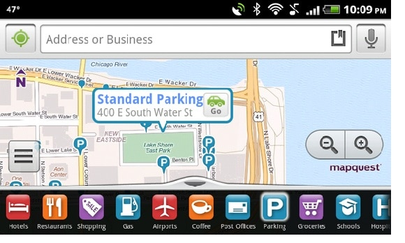 MapQuest Android Mapping Application Uses Skyhook