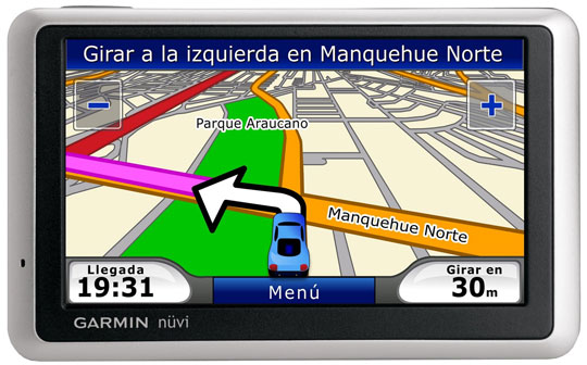 Garmin Nuvi Maps - In Spanish