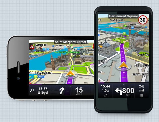 Sygic GPS Navigation - How it Looks