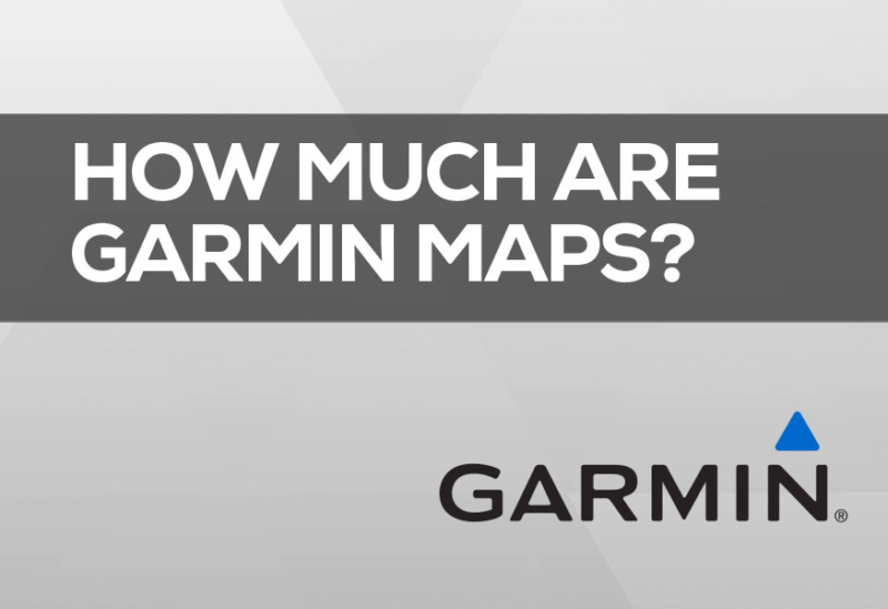 How much are garmin map updates how much maps cost.