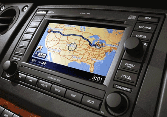 How to update Chrysler navigation system