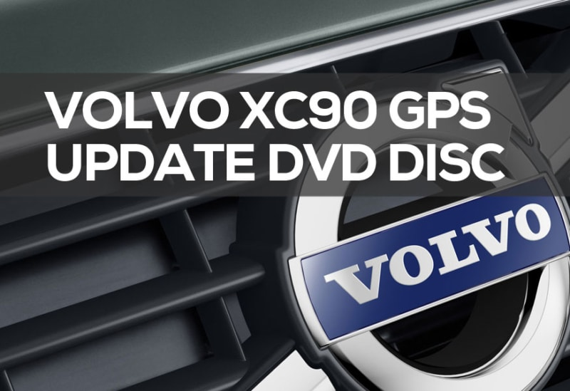 Volvo XC90 Navigation Update DVD 2019: Cheap or FREE Map Updates