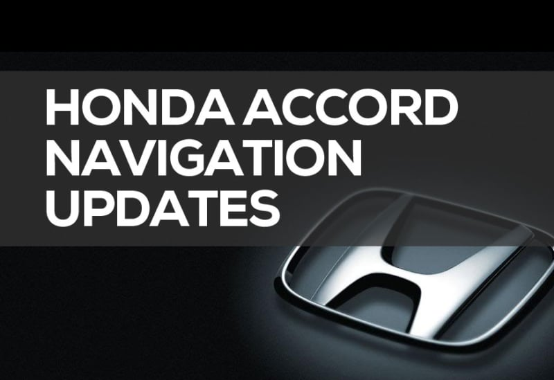Honda Accord Navigation Dvd 2019 System Updates