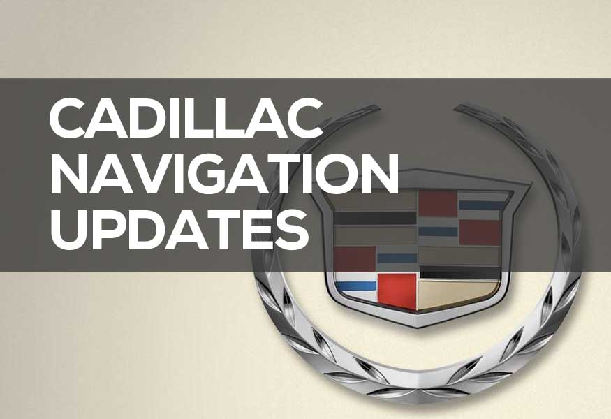 Cadillac Navigation DVD & Disc 2019: GPS Navigation Update Cheap