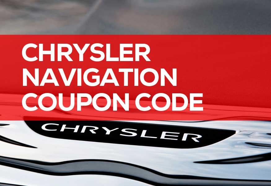 Chrysler Navigation Coupon Code & Promotion Codes 2019