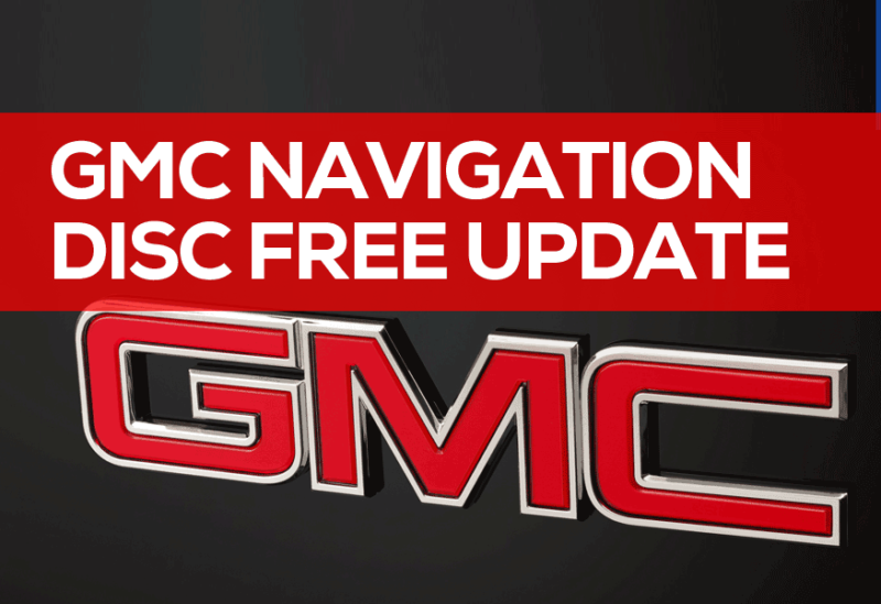 GMC Navigation Disc Free Update 2019: DVD Download GPS Maps
