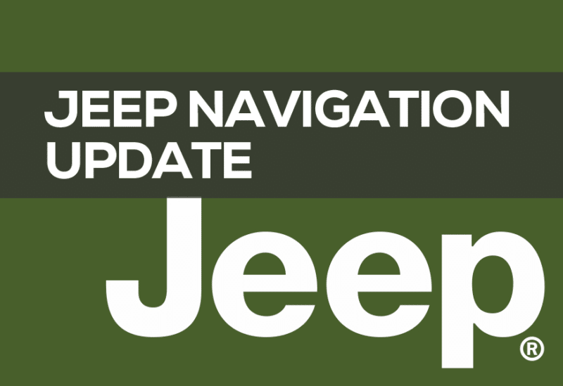 Jeep Navigation Update DVD 2019: Best Price GPS Update Disc