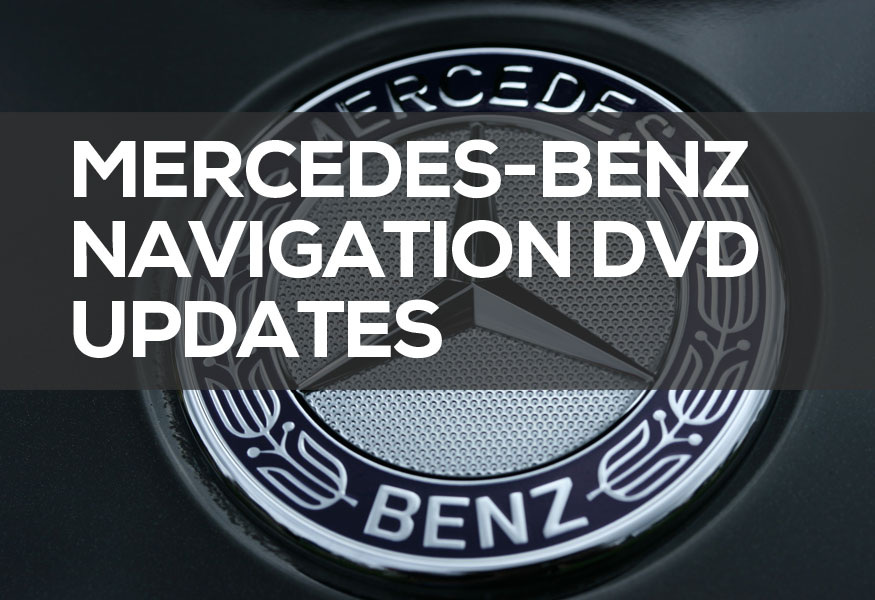 Mercedes-Benz Navigation Update 2019 ** GET LOWEST PRICE DVD **